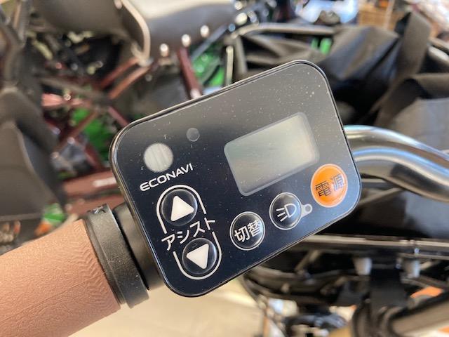 電動アシスト自転車液晶